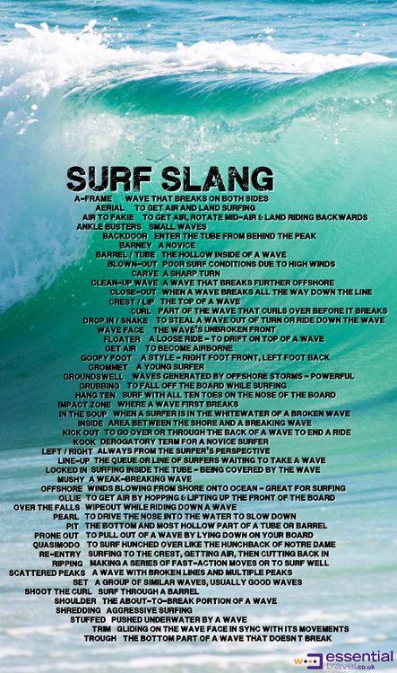 surf slang