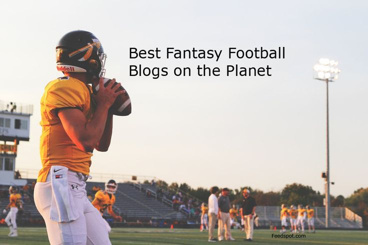 Top 50 Fantasy Football Blogs & Websites For American Football Enthusiasts