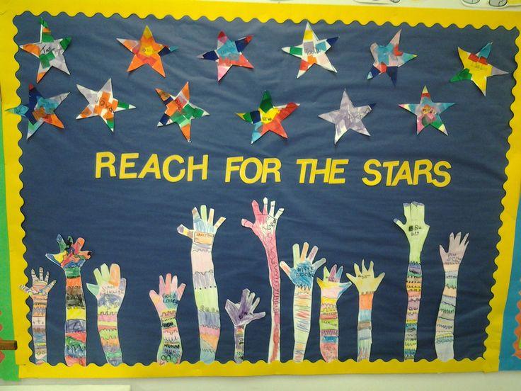 Reach for the stars bulletin board | Live. Love. Teach. My ...