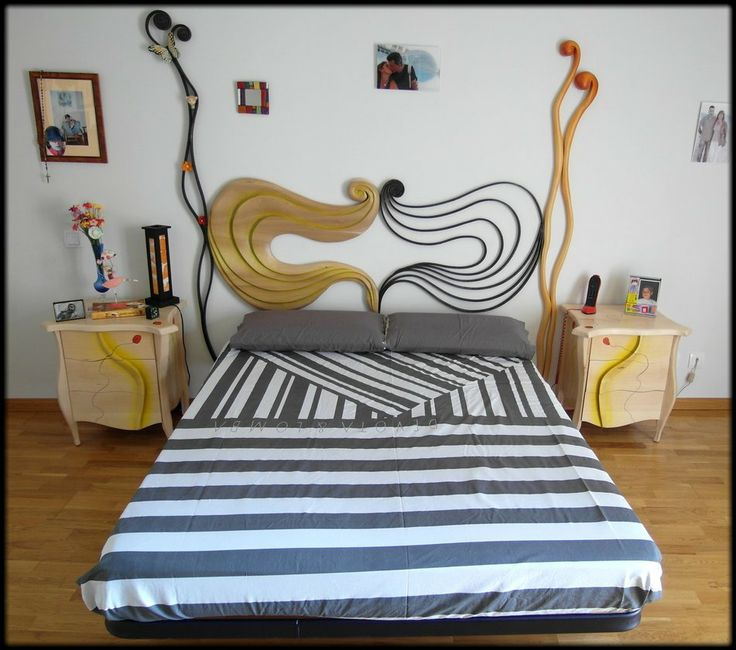 Dormitorio en forja y tilo by Tamal-muebles on deviantART. Siguenos en facebook https://www.facebook.com/tamal.muebles