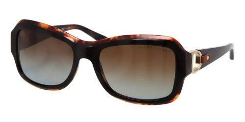 Ralph Lauren Women's 8107q Top Black / Tortoise Frame/Gradient Brown Polar Lens…