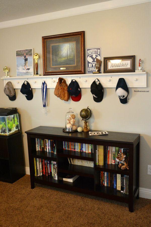 Diy Peg Board Shelf Boys Pottery And Tutorials
