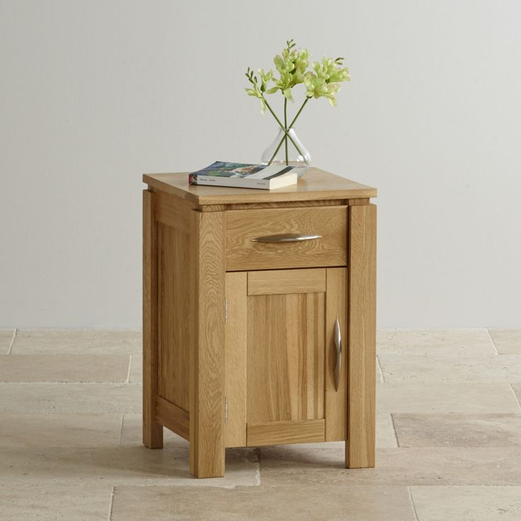 The Galway Natural Solid Oak Nightstand will complement any one of our natural solid oak beds.