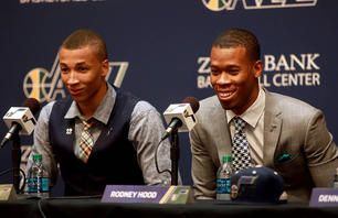 Opening exchanges: Dante Exum arrives in Utah a day after Jazz select him in NBA draft