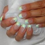 French nails zweifarbig