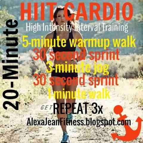 Fitness & Health: Beginner HIIT // 20 Minute Cardio workout…