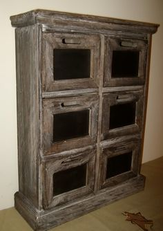 Primitive Country Crafts To Make | Primitive Country Shabby Old Barnwood Vintage Spice Drawer Chalkboard