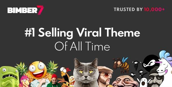 Bimber V7 5 Viral Magazine Wordpress Theme Nulled Free Download Magazine Theme Wordpress Top Wordpress Themes Wordpress Theme