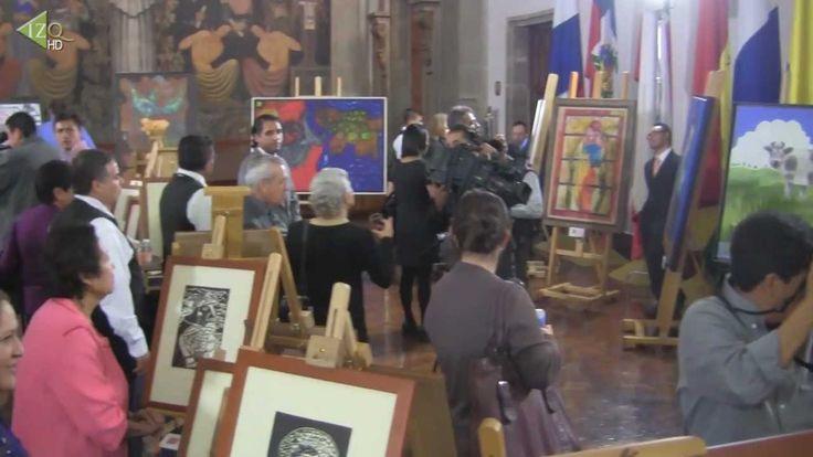 Artistas mexicanos con síndrome de Down presentan sus obras. #creativosdiferentes, #discapacidad, #capacidadesdiferentes, #plenodesarrollo, #talentoartistico, #Down, #SindromedeDown,