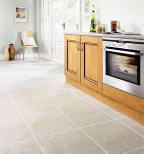 Wickes Vienna Taupe Matt Ceramic Floor Tile 450 x 450mm | Wickes.co.uk