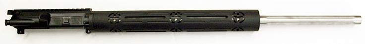 """24"""" Stainless Steel Barreled Complete Upper with BCG and Tactical Charging Handle"""