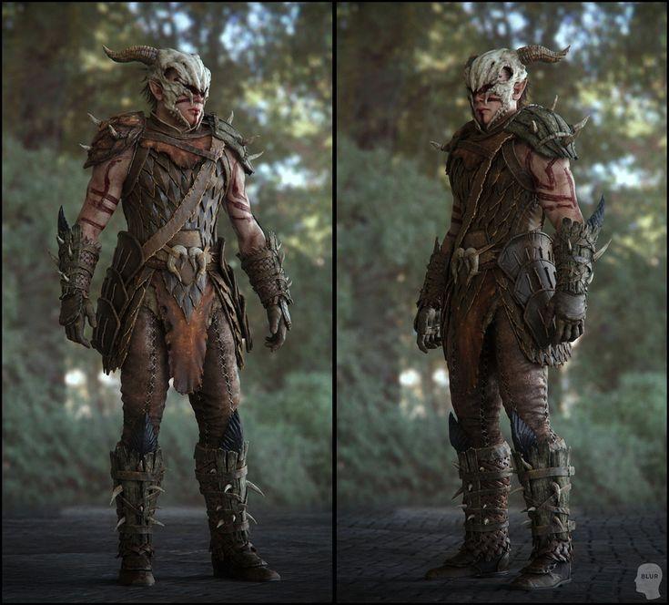 Nice armour. - WoodElf_Sheet02.jpg