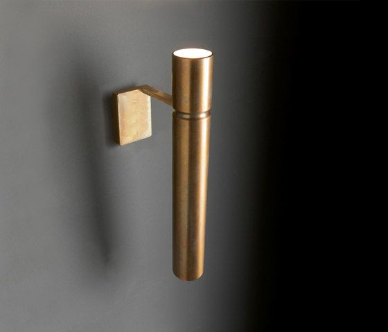 Wall lights in brass | Wall-mounted lights | Tubular Light. Check it out on Architonic