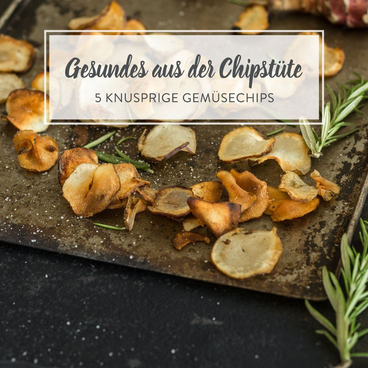 Die leichte Alternative zu klassischen Kartoffelchips: Low-Carb-Gemüsechips. Von Topinambur über Rote Bete bis hin zu Zucchini - Zugreifen erlaubt!