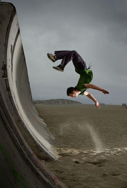 parkour wall flip - photo #11