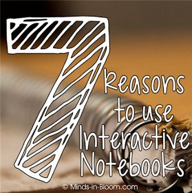 Minds in Bloom: 7 Reasons to Use Interactive Notebooks