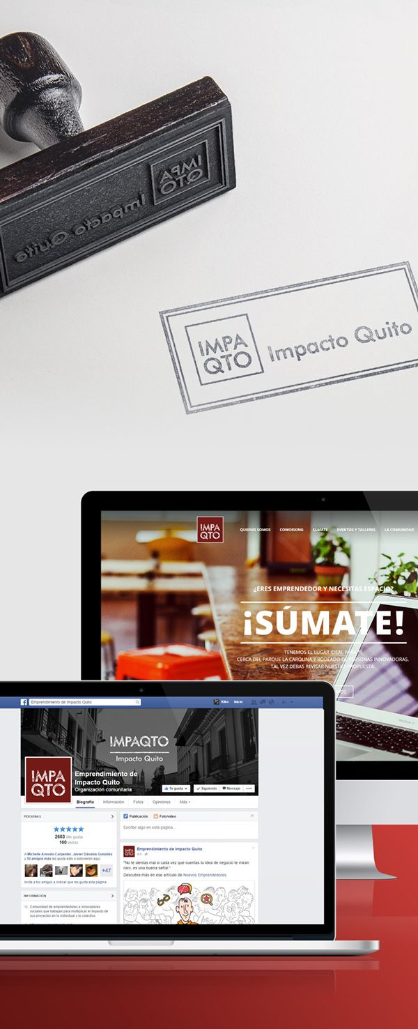 Impacto Quito / Branding on Behance