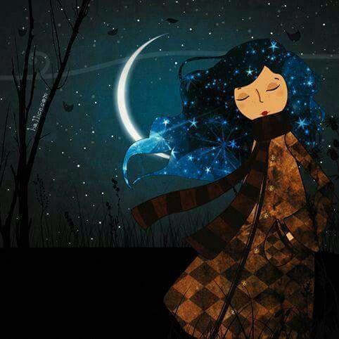 The night silence ...