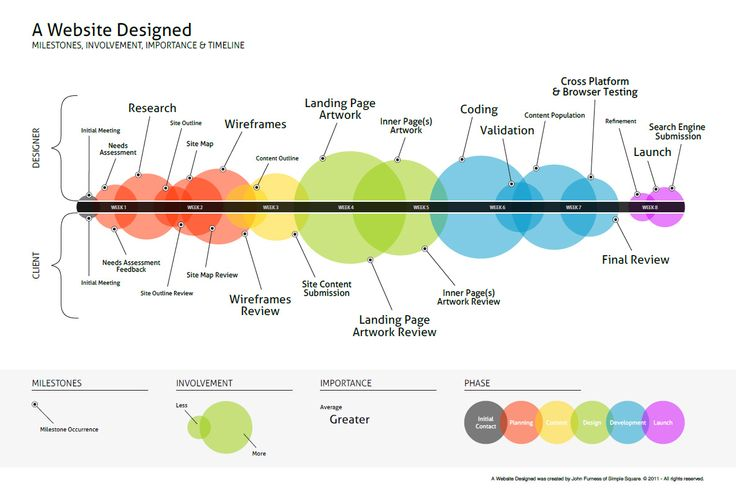 A Website Designed Infographic #infographics