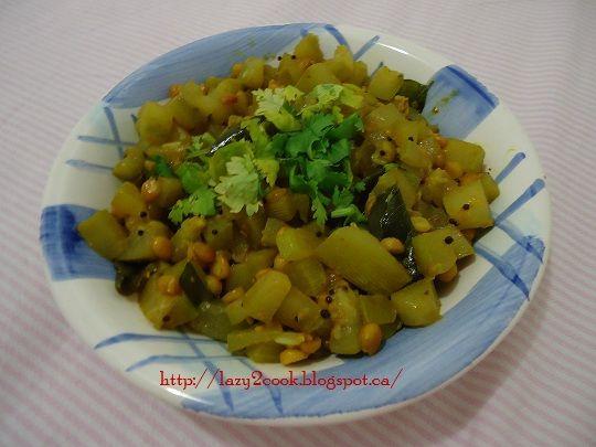 Dudhi Bhoplyachi Bhaji | Bottle gourd Vegetable