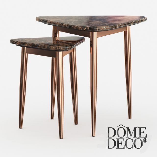 Dome Deco set of coffee tables