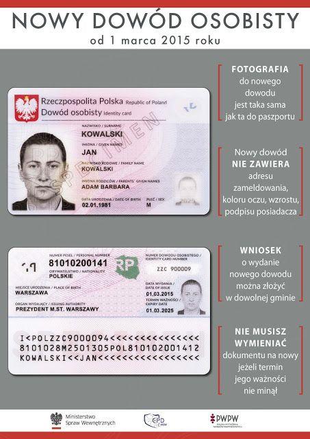 Sprawy urzędowe w Polsce - jak je załatwić przez Internet: Nowy dowód osobisty przez Internet - można czy nie...