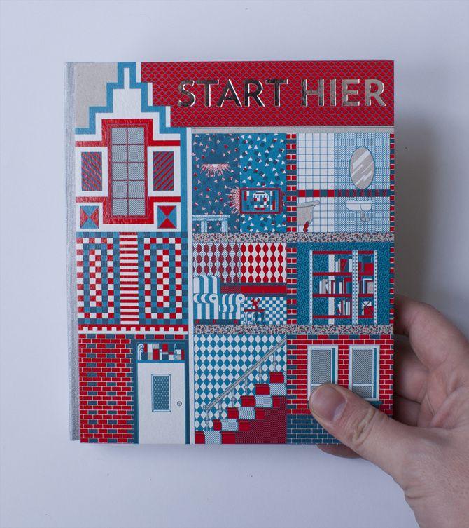 Ymere Start Hier - illustrated by Viktor Hachmang - www.hansje.net