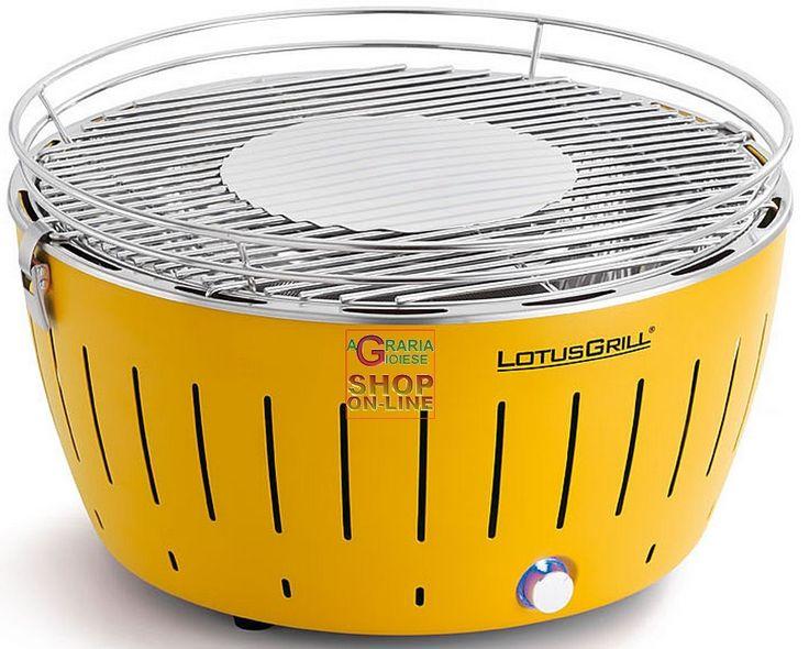 LOTUSGRILL LOTUS GRILL XL BARBECUE DA TAVOLO PORTATILE PER ESTERNO GRANDE GIALLO YELLOW http://www.decariashop.it/home/9206-lotusgrill-lotus-grill-xl-barbecue-da-tavolo-portatile-per-esterno-grande-giallo-yellow.html
