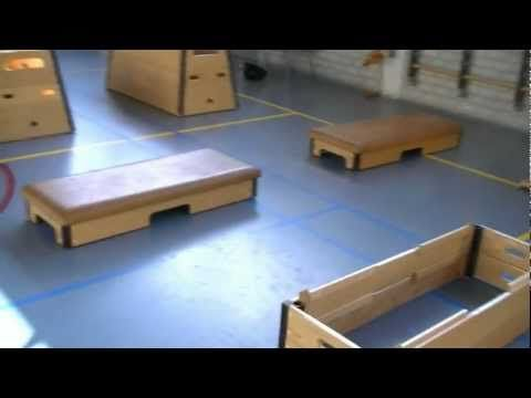 Super Mario bros in de gymzaal - YouTube