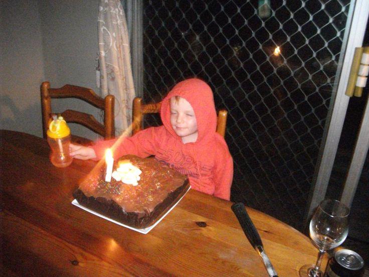 Ethan's 5th birthday 2014