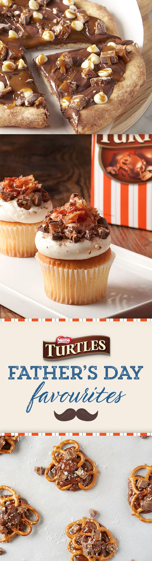 Everyone knows the best Father's Day gifts are made with love! Make Dad's day with these heartwarming TURTLES recipes.