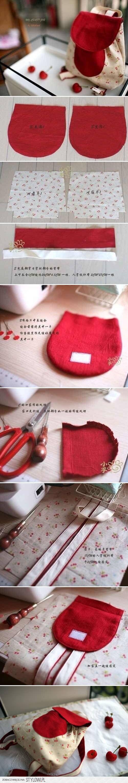 DIY Cute Little Backpack DIY Projects | UsefulDIY.com na Stylowi.pl
