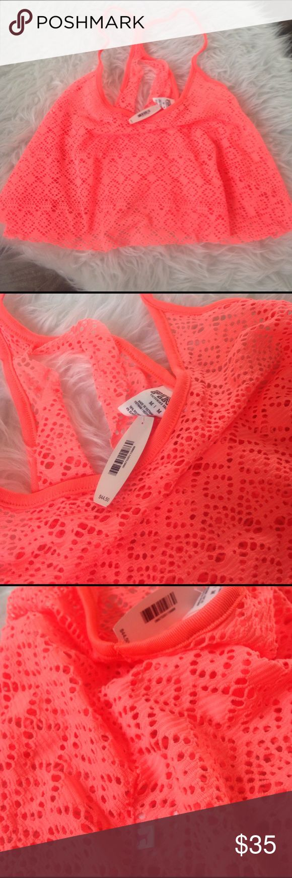 NWT PINK Victoria's Secret bikini swim 👙 cover up NWT PINK Victoria's Secret bathing suit 👙 cover up, super sexy! Available in fuchsia or orange. This listing is for color: orange, 96% polyamide & 4% elastane. Size: XS, Retail: $45, ships same day of purchase. PINK Victoria's Secret Swim Coverups