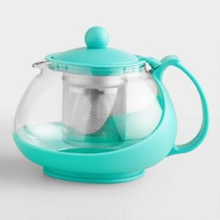 Aqua Glass Teapot Infuser