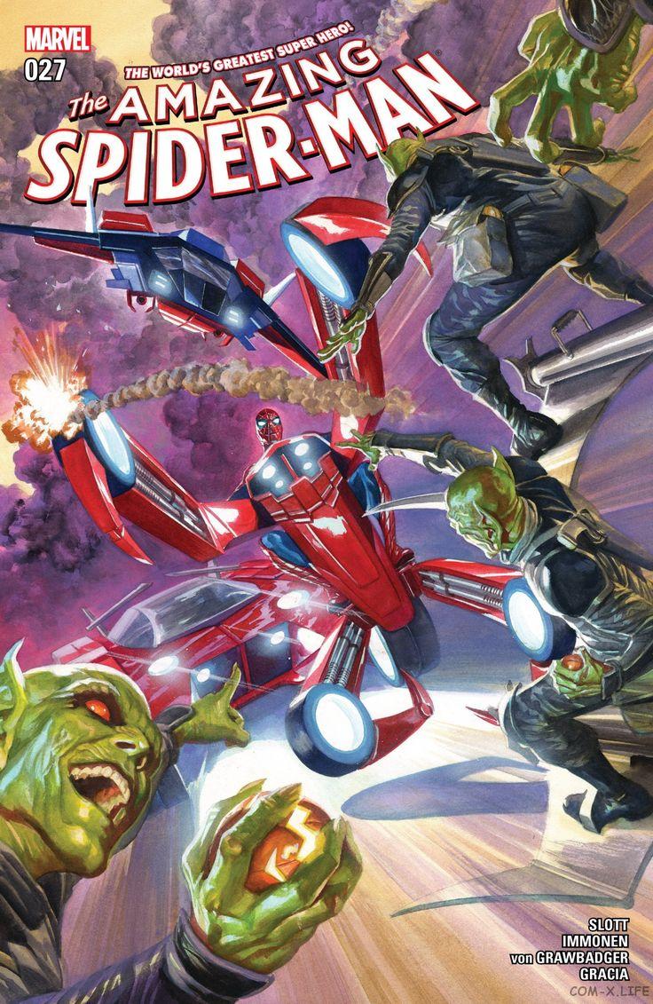 Читать Amazing Spider-Man vol 4 / Удивительный Человек-Паук том 4 > # 27 [перевода не существует] онлайн на русском, бесплатно