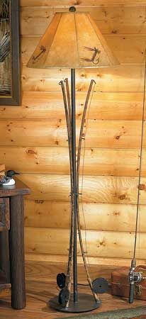 5177221502:Fishing Pole Floor Lamp