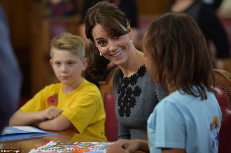 Once inside, Kate met a selection of children enrolled on the Chance UK scheme, along with their parents and mentors:
