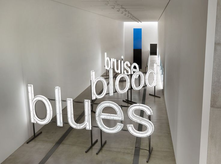 The Many Shades of Glenn Ligon's Blue Black