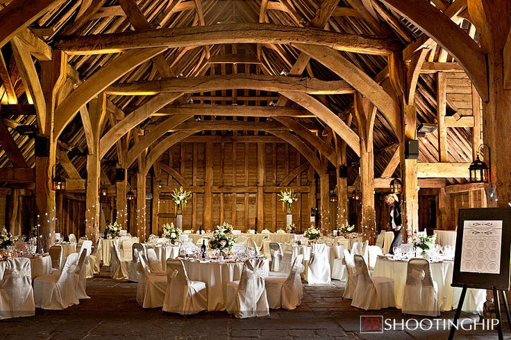 The Priory Barns | Little Wymondley nr Hitchin, Hertfordshire | A beautiful barn surrounded with countryside, even a winter wedding here is fabulous (i got married here on a cold December day and it was amazing!)