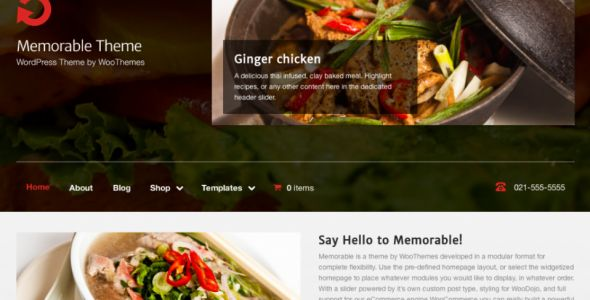 Memorable is a full featured theme that can be used to make business and multi-purpose websites. It provides homepage layouts, inbuilt widgets and modular formats which helps user to design website easily. Check it now : http://www.nulledlistings.com/?p=2458