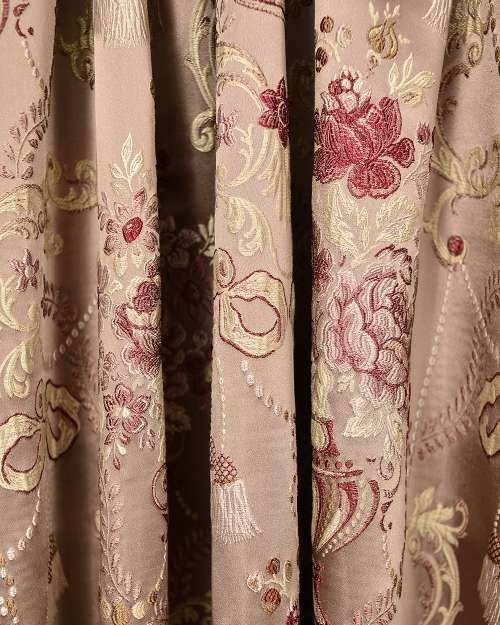 Perdele si draperii :: Tesaturi (metraj) :: Tesatura draperie Galtem roz