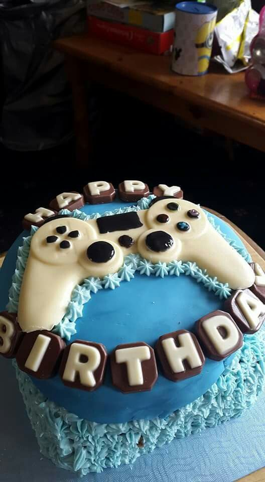 1000 Ideas About Playstation Cake On Pinterest Cakes