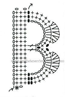 Letra B Crochet En Acción: abecedario
