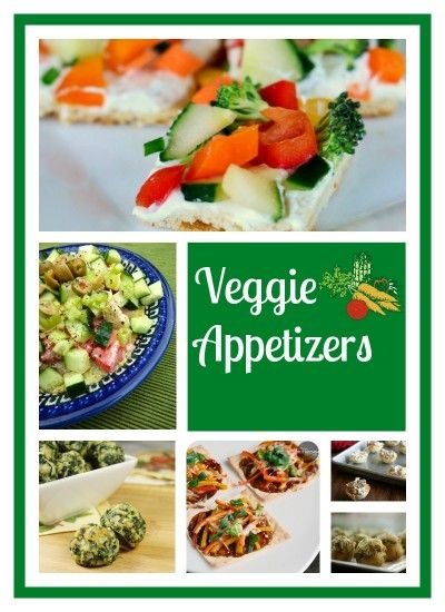 Countdown To Christmas:  Veggie Appetizers