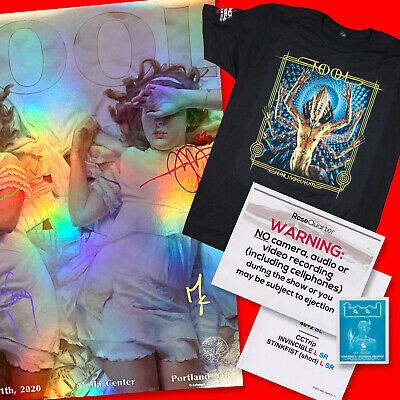 Details About Tool Portland 2020 Original Signed Poster Tour Shirt Setlist 01 Handbill In 2020 Tour Shirt Dresden Dolls Gig Posters