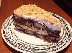 Η ΔΙΑΔΡΟΜΗ ®: Γλυκό με σαβουαγιάρ και πραλίνα φουντουκιού
