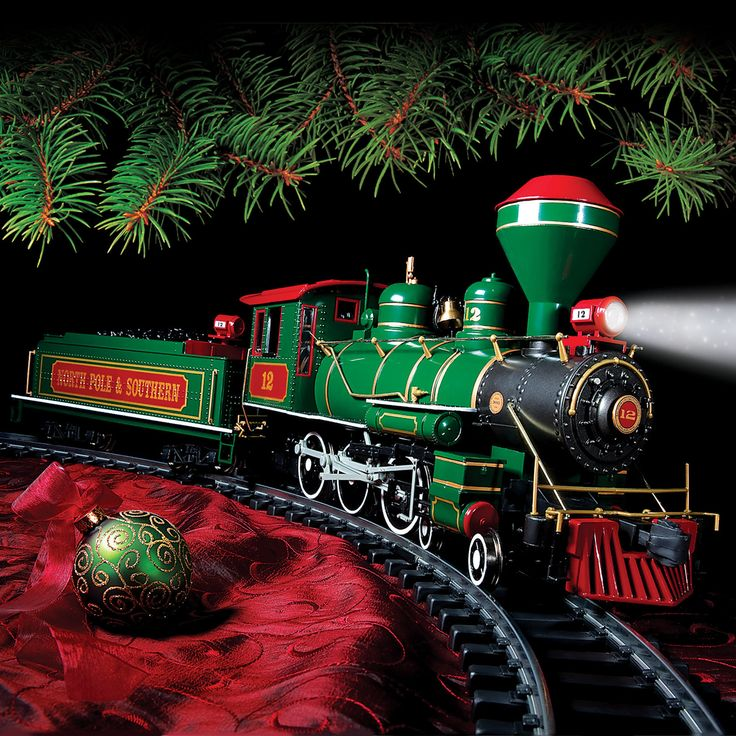 Put These Really BIG TRAINS Under Your Tree, and Relive the Romance and Realism of Railroading Not Possible With HO Scale!