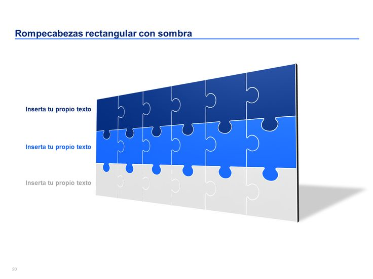 Piezas De Rompecabezas Para Power Point
