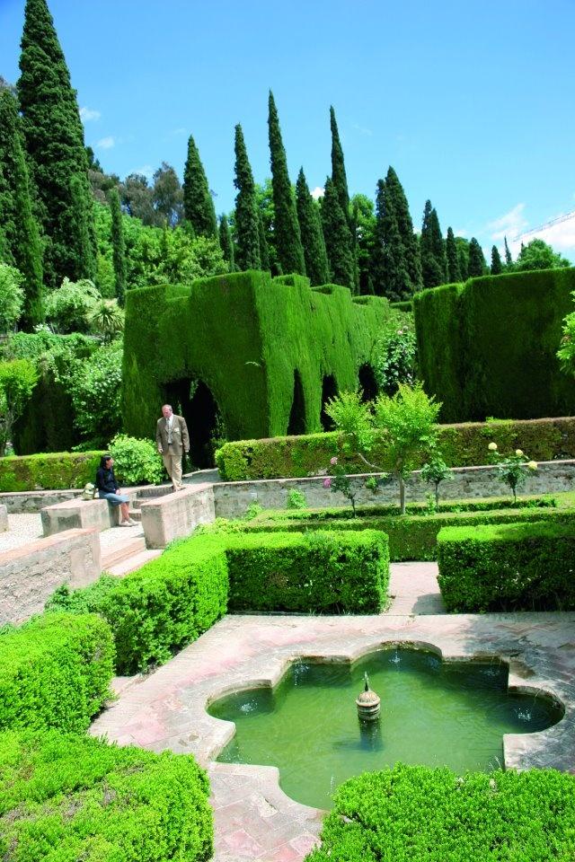 jardines de la alhambra granada spain jardines