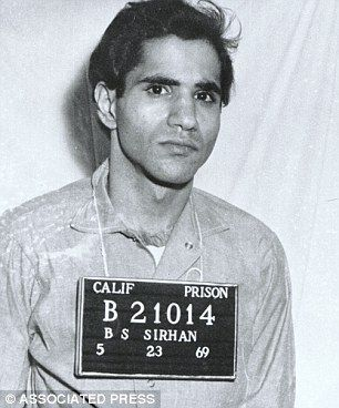 Robert F. Kennedy's killer Sirhan Sirhan denied parole | Daily Mail Online